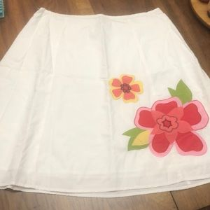 Women's George Floral Skirt Size 14